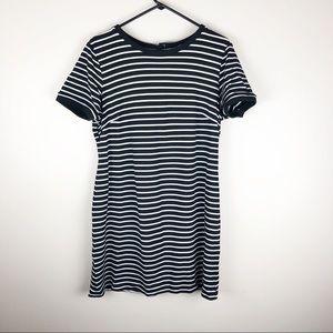 Catherine Malandrino Black and White Striped Dress